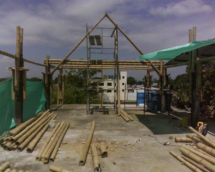 Arquitectura y construccion en colombia guadua bambu for Arquitectura y construccion