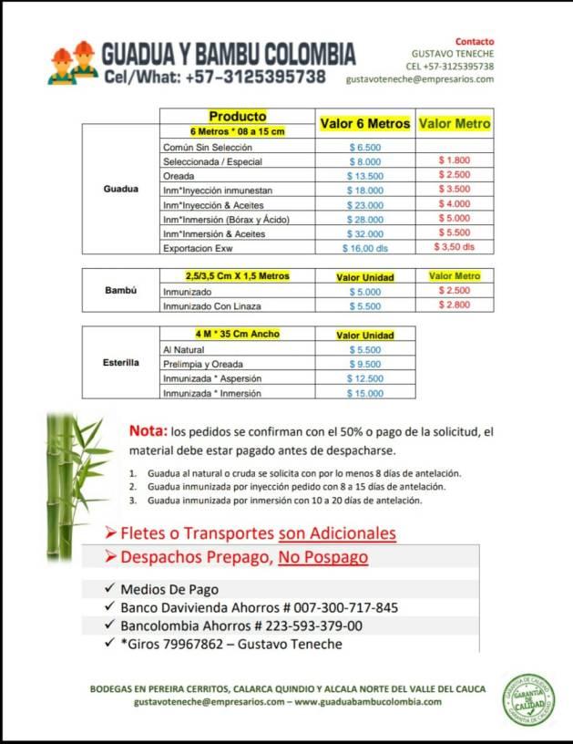TABLA DE VALORES ACTUALIZADA AGOSTO 2019